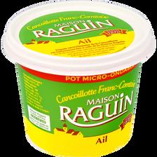 Cancoillotte à l'ail au lt pasteurisé 9,5%MG Raguin pot 250g