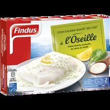 Findus Filet De Colin D'alaska À L'oseille  400g