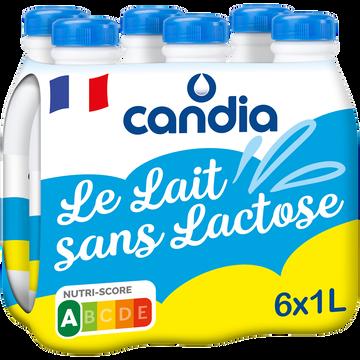 Candia Lait Uht Le Lait Sans Lactose Candia, 6x1l