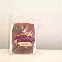Cake à la farine de châtaigne aux écorces d'orange confites BIO 320gr