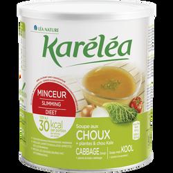 Soupe minceur aux choux+plantes KARELEA, 300g