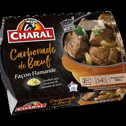 Carbonade de boeuf, CHARAL, France, barquette, 300g