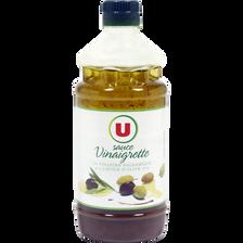 Sauce vinaigrette au vinaigre balsamique et à l'huile d'olive 10% U, bouteille de 550ml
