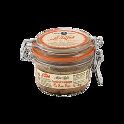 Terrine de campagne au foie gras, MERE LALIE, 140g