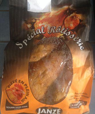 Poulet rôti fermier, POULET DE JANZE, France, 1pièce, kg