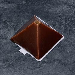 Pyramide chocolat coeur croustillant décongelé, 2 pièces, 210g