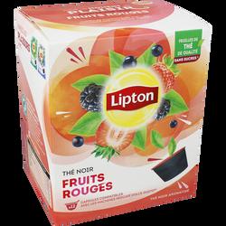 Thé noir fruits rouges LIPTON, x12 soit 33g