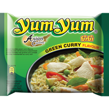 Yum Yum Soupe Nouilles Curry Vert , 60g