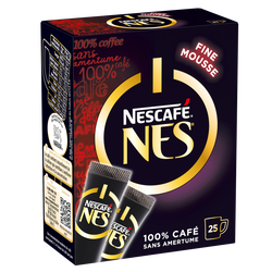 Café soluble Nes NESCAFE, 25 sticks, 50g