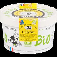 Sorbet citron origine Sicile bio LA BELLE AUDE pot 378g