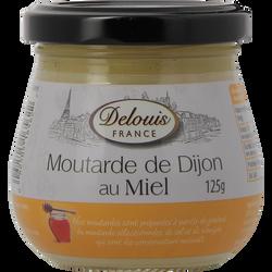 Moutarde au miel DELOUIS, 125g