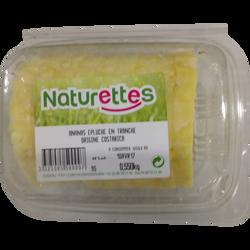 Ananas 11 tranches, NATURETTES, barquette, 550g