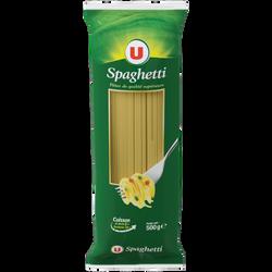 Spaghetti qualité supérieure U, paquet cello de 500g
