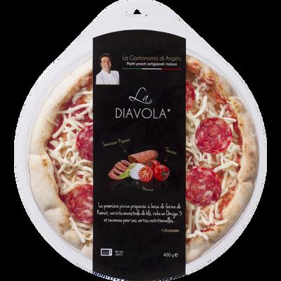 Pizza la diavola LA GASTRONOMIA DI ANGELO, 400g