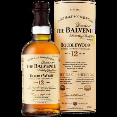 Scotch Whisky single malt BALVENIE DOUBLEWOOD, 40°, 12 ans, bouteillede 70cl