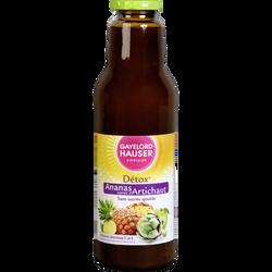 Jus d'ananas artichaut sans sucres ajoutés GAYELORD HAUSER, bouteillede 75cl