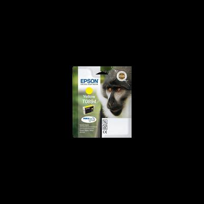 Cartouche d'encre EPSON pour imprimante, T0894 jaune Babouin, sous blister