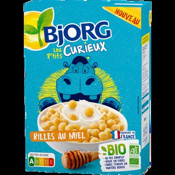 Bjorg Billes Au Miel Bio Les P'tis Curieux Bjorg, 375g
