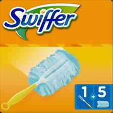 Swiffer Kit , 5 Plumeaux Et 1 Poignée