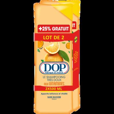 Shampoing aux vitamines DOP, 2 flacons de 500ml