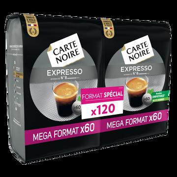 Carte Noire Café Expresso Carte Noire, 120 Dosettes