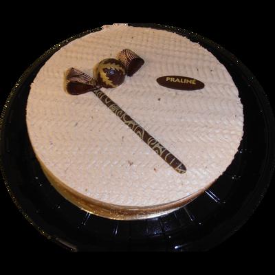 Moka praliné, diamètre 20 cm, 1 pièce, 700g