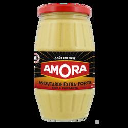 Moutarde extra forte AMORA, bocal de 440g