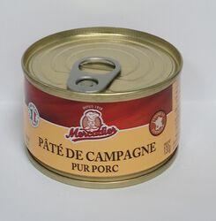 Paté de campagne Mercadier 130g