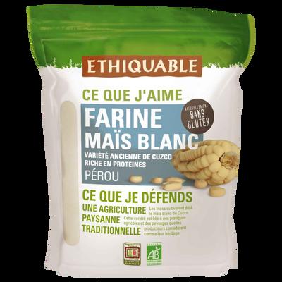 farine maïs blanc pérou bio ETHIQUABLE, 400g