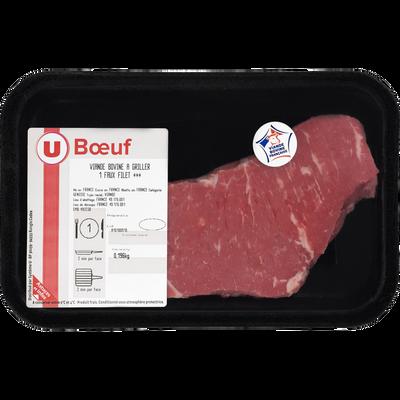 Viande bovine - Faux filet *** Genisse, U, France, 1 pièce