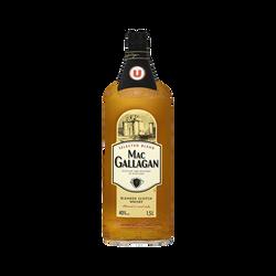 Blended Scotch Whisky 3 ans d'âge Mas Gallagan U, 40°, bouteille de 1,5l