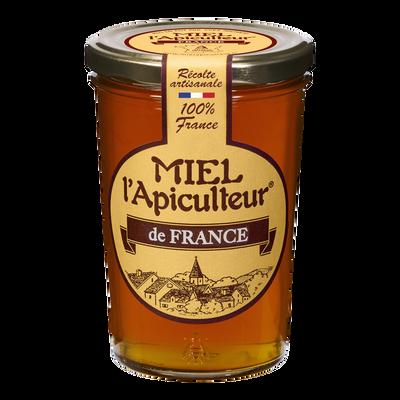 Miel de France liquide MIEL L'APICULTEUR, pot en verre de 500g