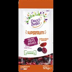 Mélange fruits rouges(cranberries,cerises,myrtilles), sachet 125g