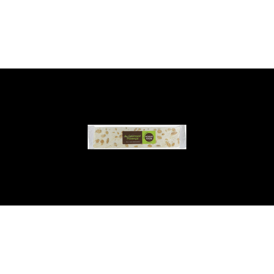Barre de nougat tendre 20% d'amandes sans gluten, 200g