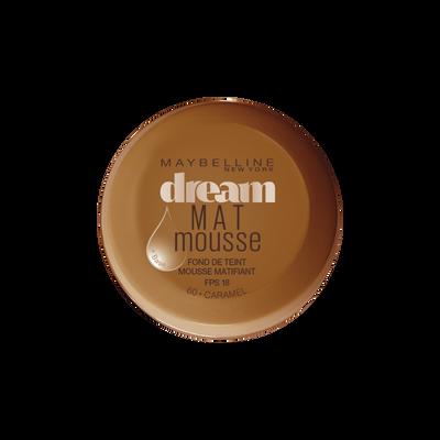 Fond de teint dream mat 60 caramel GEMEY MAYBELINE, nu