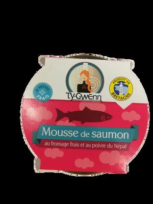 Mousse saumon fromage frais et poivre TY GWENN 90G