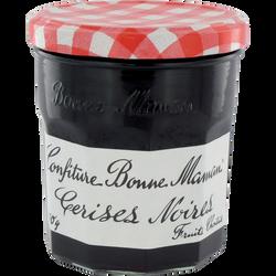 Confiture de cerises noires BONNE MAMAN, 370g