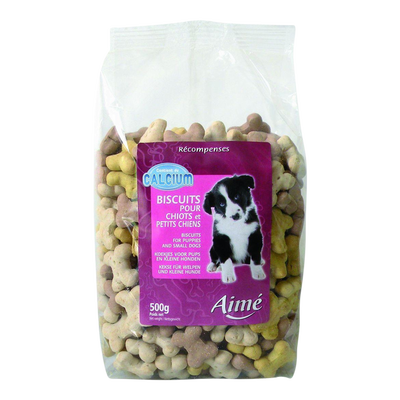 Biscuits chiots, AIME, 500g