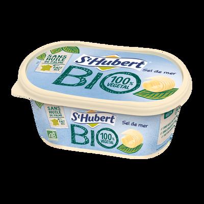 Matière grasse bio demi sel, 58% de matière grasse ST HUBERT, 490g