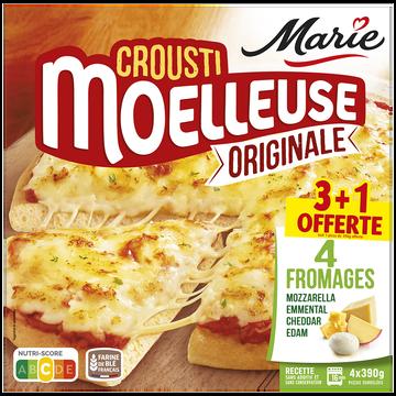 Marie Pizza Crousti-moelleuse Aux Fromages Marie, X3 + 1 Offert 1,56kg