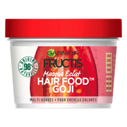 Garnier Masque Éclats Aux Baies De Goji Hair Foods Fructis, Pot De 390ml
