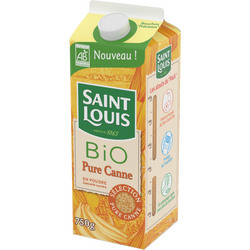 Sucre pure canne Bio SAINT LOUIS, paquet 750g