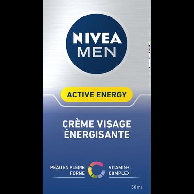 Soin visage anti fatigue Q10 For Men NIVEA, flacon de 50ml