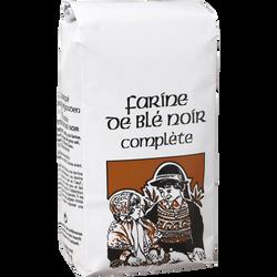 Farine de blé noir complète MINOTERIE DE L'ECLUSE, 500g