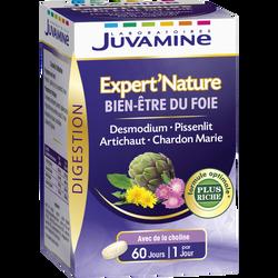 Digestion bien-être du foie JUVAMINE, 60 comprimés