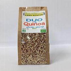 Duo de quinoa blanc/rouge Bio NATURELLEMENT SANS GLUTEN 400g