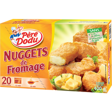 Nuggets fromage PERE DODU x20 400g
