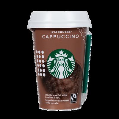 Boisson au cappuccino STARBUCKS, cup de 220ml