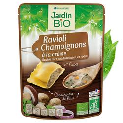 Ravioli champignons crême JARDIN BIO 250g