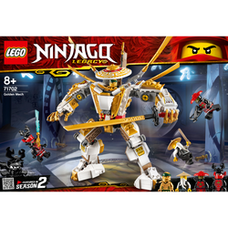 Le robot d'or LEGO